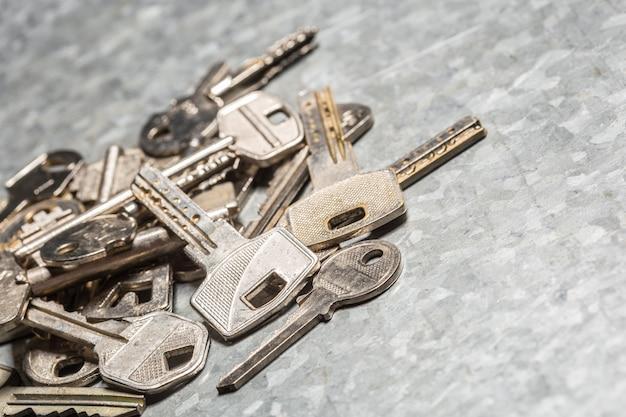 Stare klucze Premium Zdjęcia