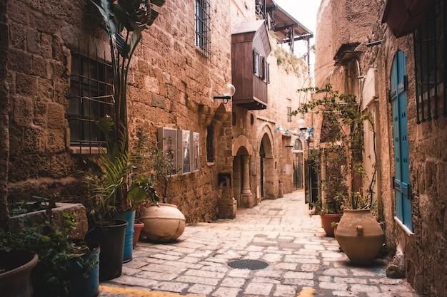 Stare Miasto Jaffa, Tel Awiw - Izrael Premium Zdjęcia