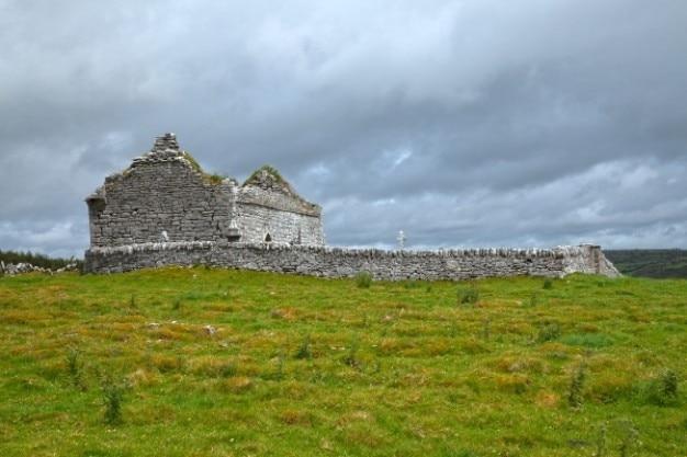 Starożytne Ruiny Kaplicy Hdr Darmowe Zdjęcia
