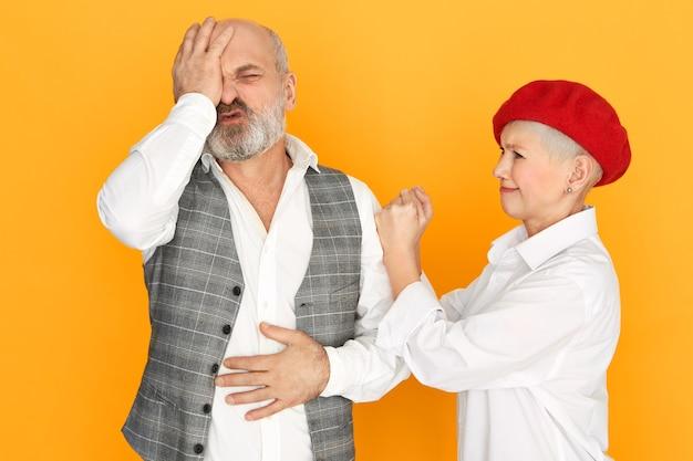 Starsza Para Walczy Darmowe Zdjęcia