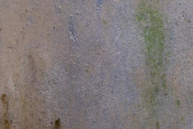 Stary beton jest mokry deszcz przez cały rok Premium Zdjęcia