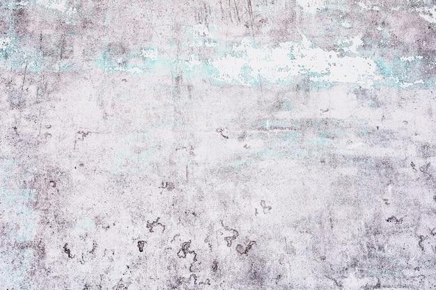 Stary Biały Z Niebieskim Tekstury Odklejając Betonową ścianę Na Tle Premium Zdjęcia