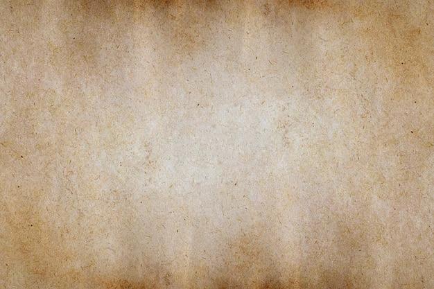 Stary Brązowy Papier Grunge Tekstury Tło. Premium Zdjęcia