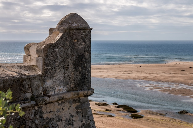 Stary Fort W Cacela Velha Premium Zdjęcia