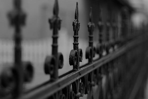 Stary metalu żeliwny płot Darmowe Zdjęcia