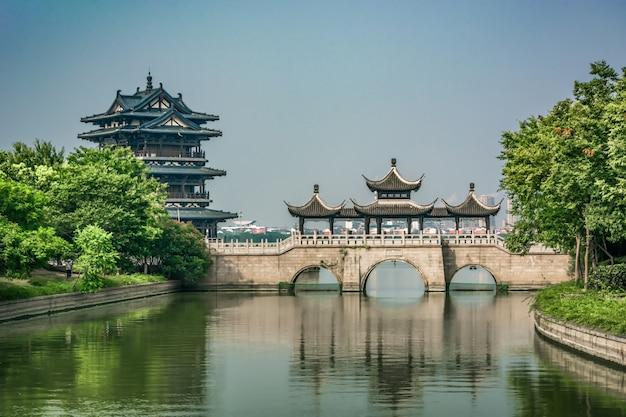 Stary Most W Chińskim Parku Darmowe Zdjęcia