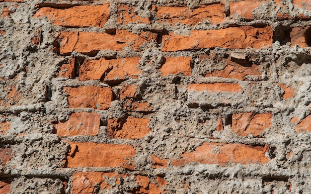 Stary Mur Z Cegły Premium Zdjęcia