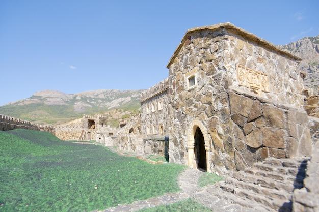 Stary średniowieczny Zamek Premium Zdjęcia