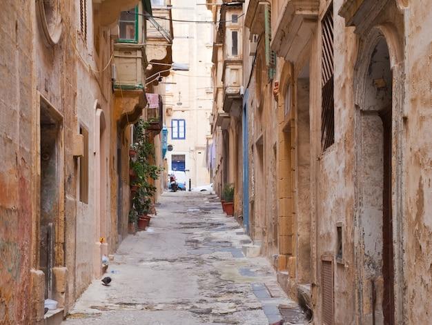 Stary Ulica Valletta Darmowe Zdjęcia