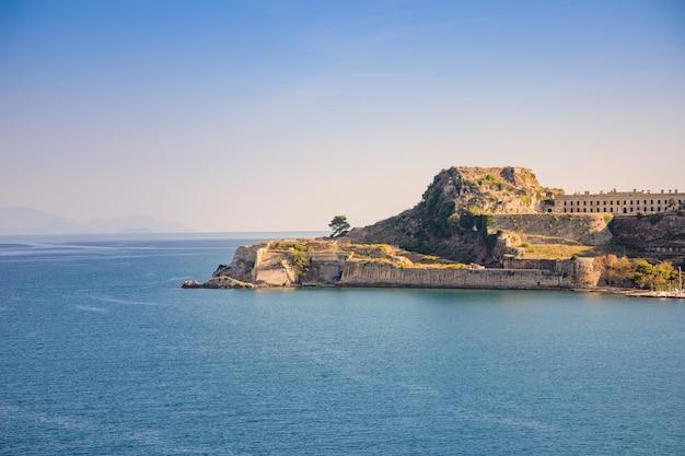 Stary Wenecki Forteca Przy Corfu, Ionian Wyspy, Grecja Premium Zdjęcia