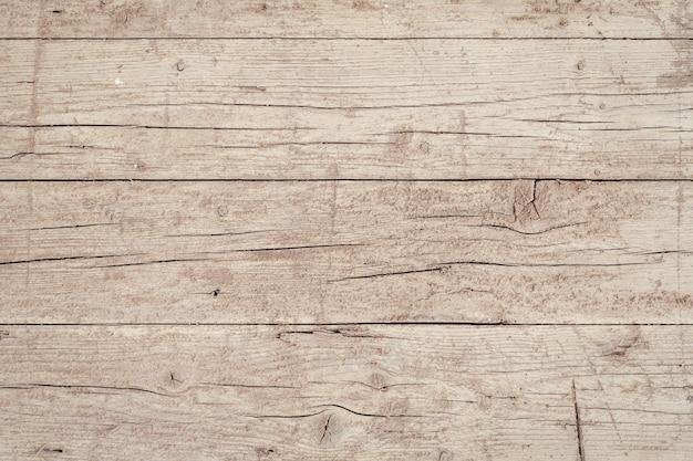Starzejący Się Drewniany Deski Tło. Grunge Na Zewnątrz Powierzchni Drewna. Pusty Szablon Premium Zdjęcia