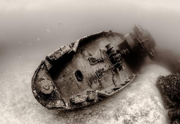 Statek Zatonął Na Dnie Morskim Darmowe Zdjęcia
