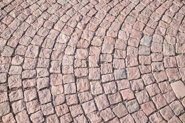 Stone Square Ceglany Blok Spacer Sposób Dla Tekstury Tła. Premium Zdjęcia