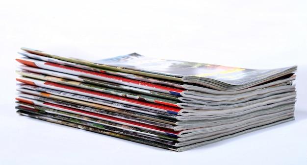 Stos gazet Premium Zdjęcia