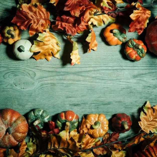 Straszna Kompozycja Halloween Z Miejscem Na Kopię W środku Darmowe Zdjęcia