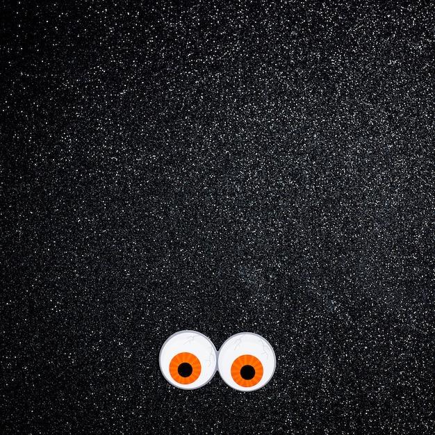 Straszne Oczy Z Miejscem Na Kopię Tekstu Darmowe Zdjęcia