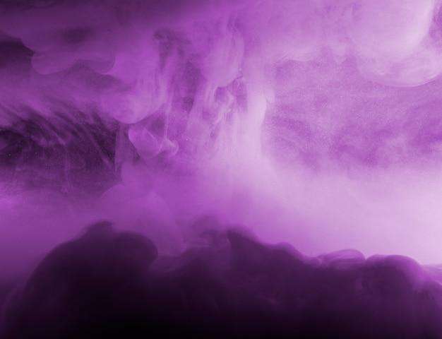 Streszczenie chmura między purpurową mgiełką Darmowe Zdjęcia