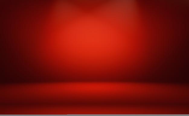 Streszczenie Luksusowe Miękkie Czerwone Tło Premium Zdjęcia