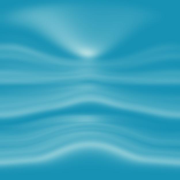 Streszczenie Luksusowe Niebieskie Tło Gradientowe. Gładki Ciemnoniebieski Z Czarną Winietą Baner Studio. Darmowe Zdjęcia