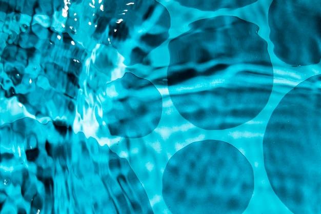 Streszczenie projektu wody i monochromatyczne kropli wody Darmowe Zdjęcia