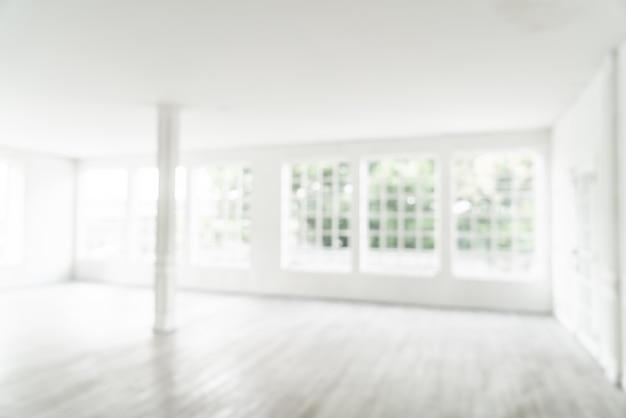 streszczenie rozmycie pusty pokój ze szklanym oknem Premium Zdjęcia