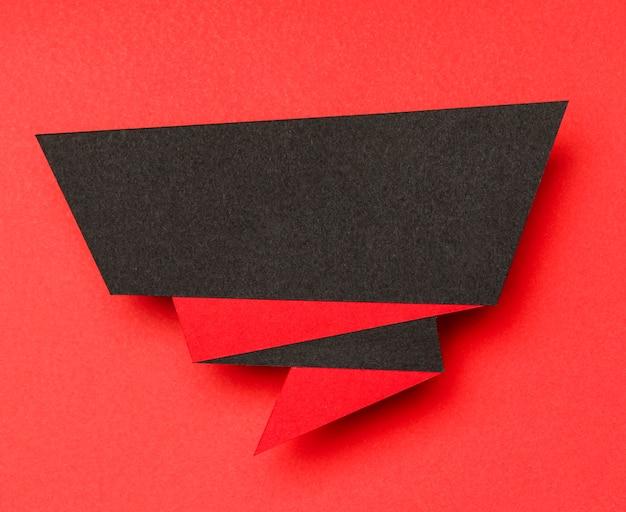 Streszczenie Sprzedaży Transparent Czarny I Czerwony Premium Zdjęcia