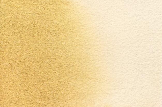Streszczenie Sztuka Tło Jasne Kolory Beżu I Złota. Akwarela Na Płótnie Z Miękkim Brązowym Gradientem. Premium Zdjęcia