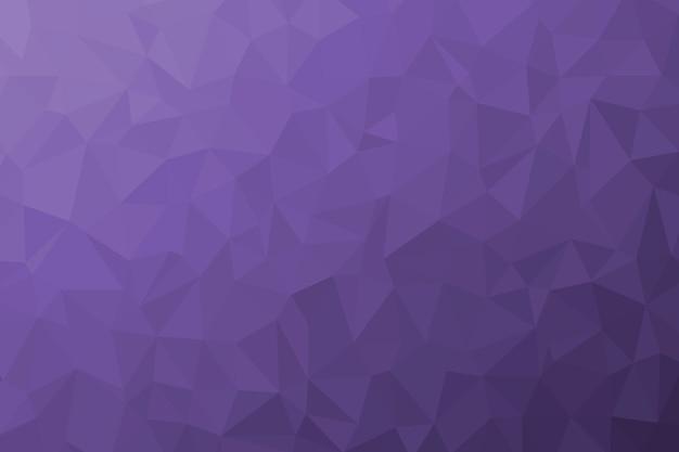 Streszczenie Tekstura Tło Fioletowy Low Poly. Ilustracja Kreatywnych Wielokątne Tło Premium Zdjęcia