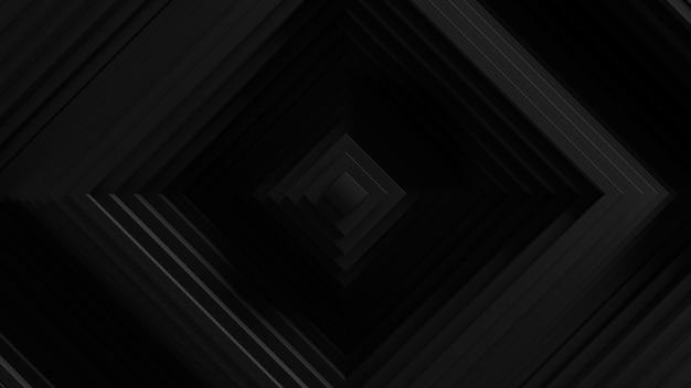 Streszczenie Tło Oscylacja Rolety Kwadratowe. . Falista Powierzchnia ścian 3d. Przemieszczanie Elementów Geometrycznych. Darmowe Zdjęcia