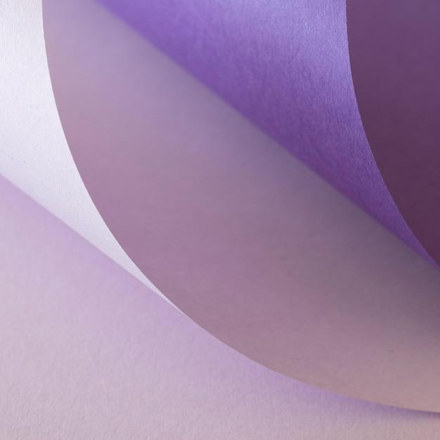 Streszczenie Wiruje Fioletowych Papierów Premium Zdjęcia