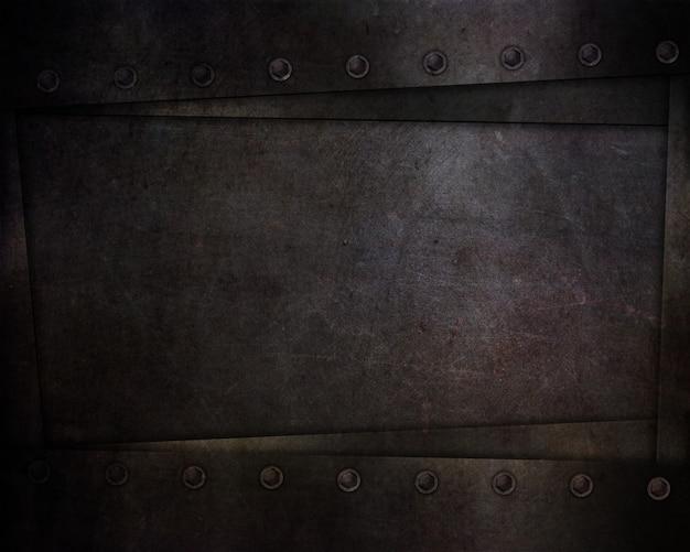 Streszczenie Z Ciemnymi Teksturami Stylu Grunge I Nitami Darmowe Zdjęcia