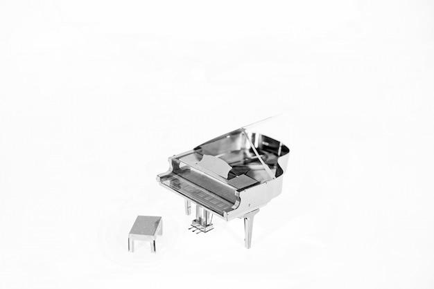 Streszczenie Zdjęcie Muzyki. Muzyka Fortepianowa. Premium Zdjęcia