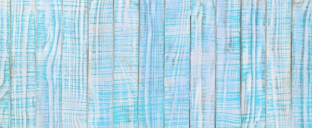 Struktura Starego Drewna Pomalowana Na Kolor Turkusowy Lub Turkusowy. Jasnoniebieski Drewniany Stół, Widok Z Góry Premium Zdjęcia