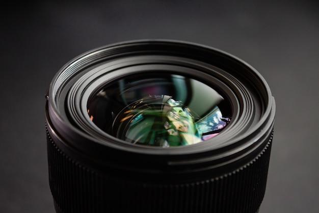 Strzał Zbliżenie Czarny Obiektyw Aparatu Darmowe Zdjęcia