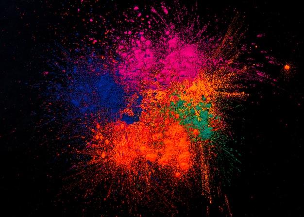 Studio strzał kolorowi festiwali / lów kolory Darmowe Zdjęcia