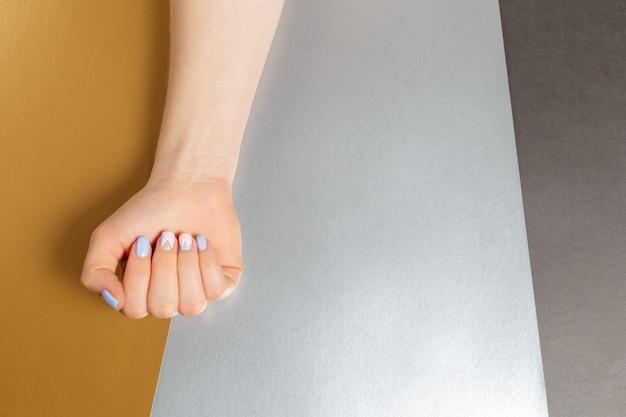 Stylowy Modny Kobiecy Manicure. Premium Zdjęcia
