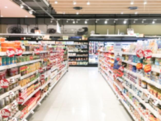 Supermarket rozmycie streszczenie Darmowe Zdjęcia