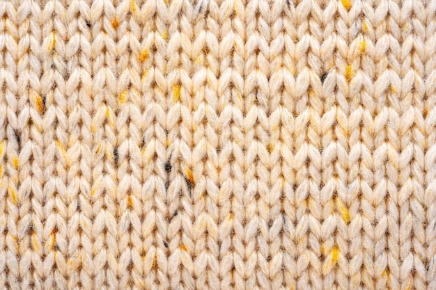 Sweter Z Wełny Dzianiny Tekstura Tło Premium Zdjęcia