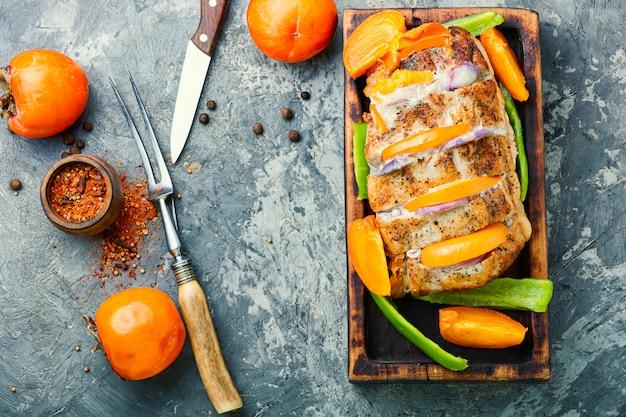 Świąteczna Pieczona Wieprzowina Premium Zdjęcia