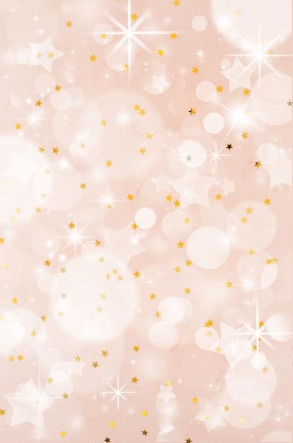 Świąteczny boże narodzenie streszczenie tło z bokeh. tło uroczysty party wakacje z efekt rozmycia. Premium Zdjęcia