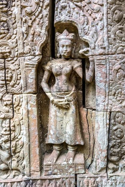 Świątynia Ta Som W Angkor Wat W Siem Reap W Kambodży Premium Zdjęcia
