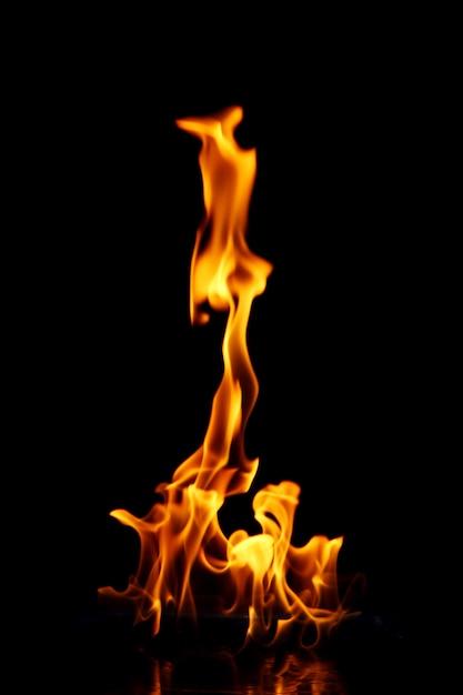 Świecący Płomień Ognia Darmowe Zdjęcia