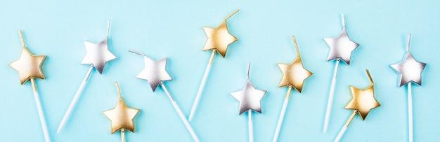 Świeczki Urodzinowe W Kształcie Gwiazdy Darmowe Zdjęcia