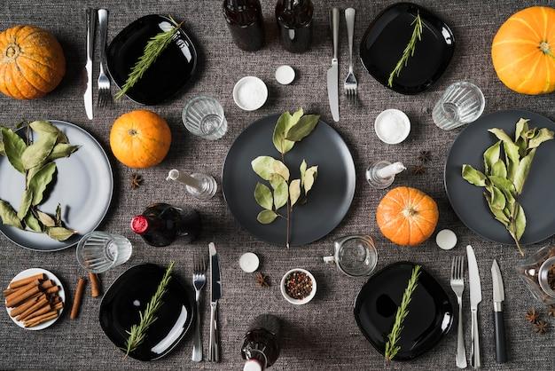 Święto Dziękczynienia Ze Składnikami Posiłków Darmowe Zdjęcia