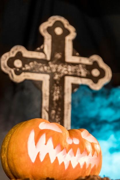 Święto Halloween Z Upiorną Dekoracją Darmowe Zdjęcia