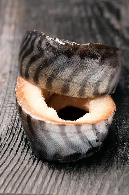 Świeże Mięso Makreli Premium Zdjęcia