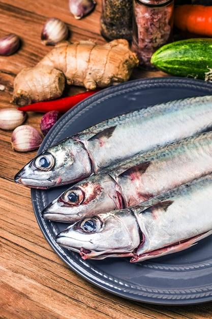 Świeże ryby makrela Darmowe Zdjęcia