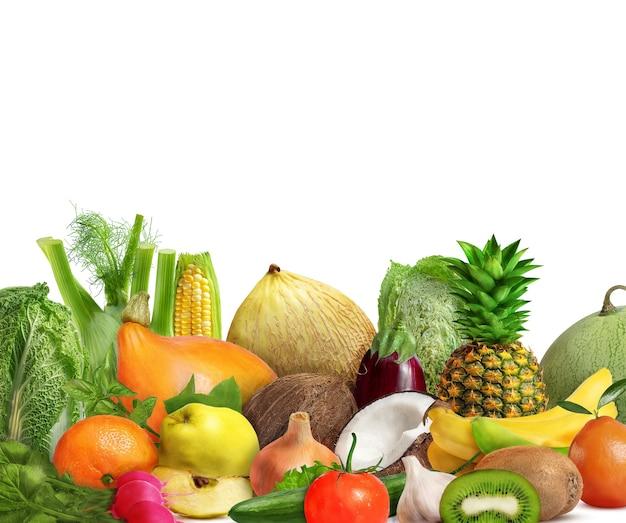 Świeże Warzywa I Owoce Premium Zdjęcia