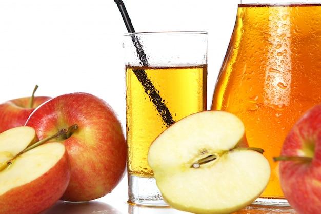 Świeży I Zimny Sok Jabłkowy Darmowe Zdjęcia