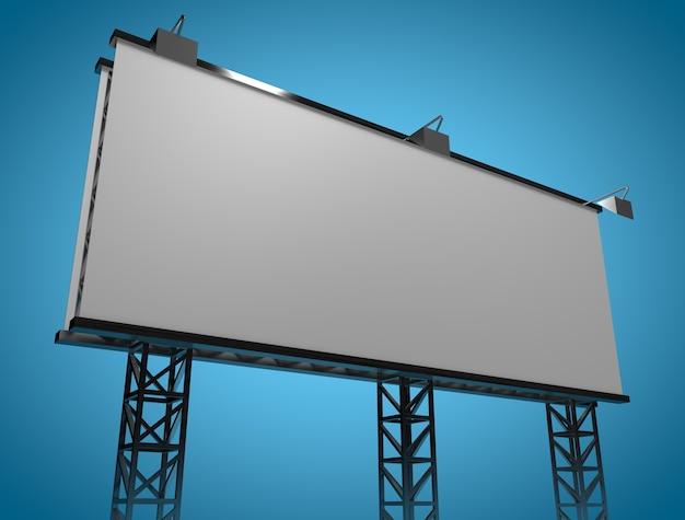 Świeży Makieta Billboard Premium Zdjęcia